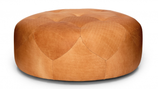 Article Leather Ottoman