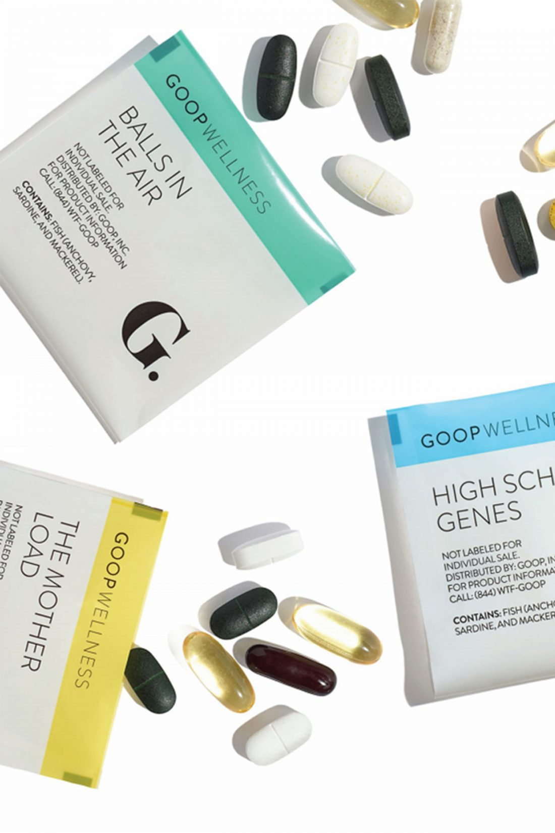 Goop Wellness: Custom Vitamins