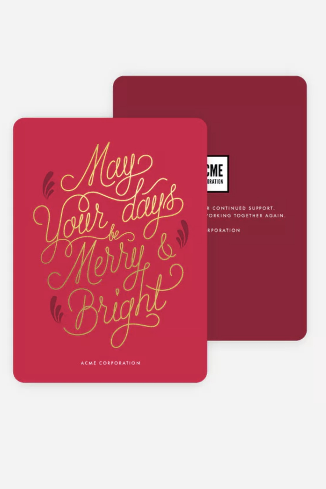 Paper Culture: Holiday Cards