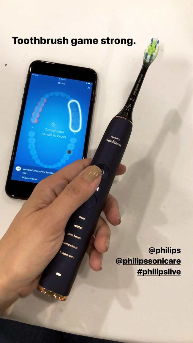 Best of CES 2018: Philips Smart Toothbrush
