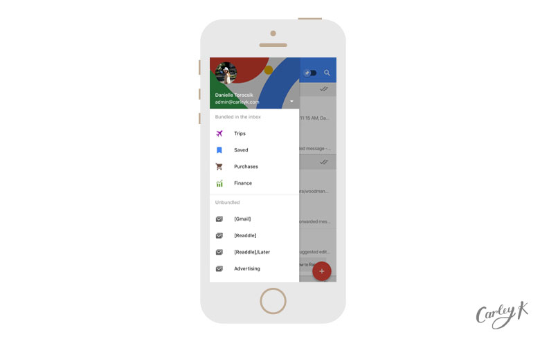 Inbox by Gmail: Organized Inbox Email Apps