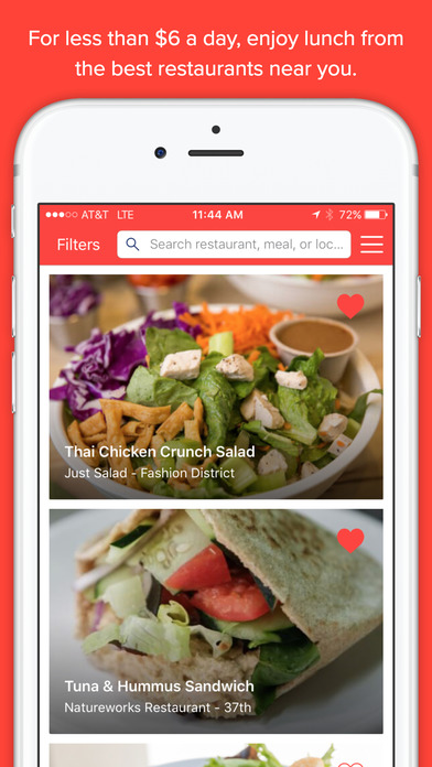 MealPal: Takeout Apps