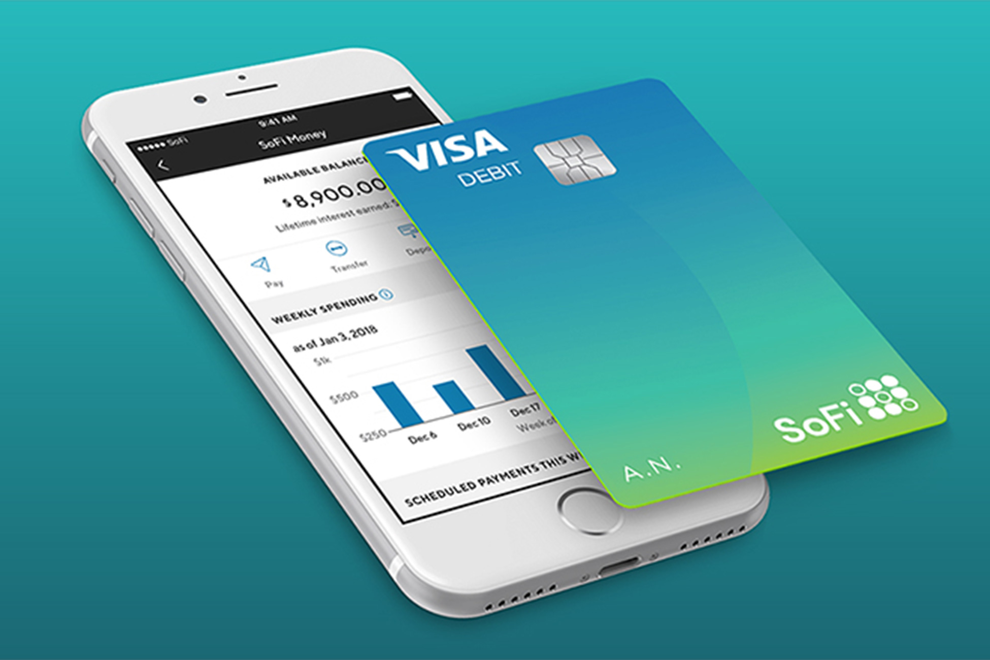 SoFi Money High Tech Debit Cards
