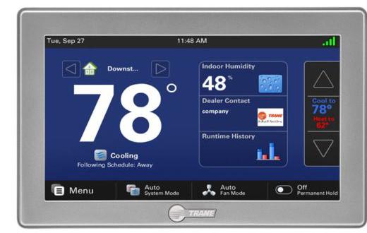 Nexia Thermostat Trane