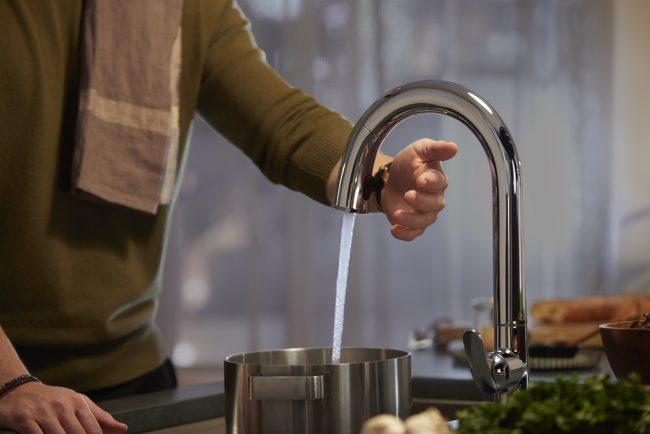 Sensate Faucet with Kohler Konnect Kohler