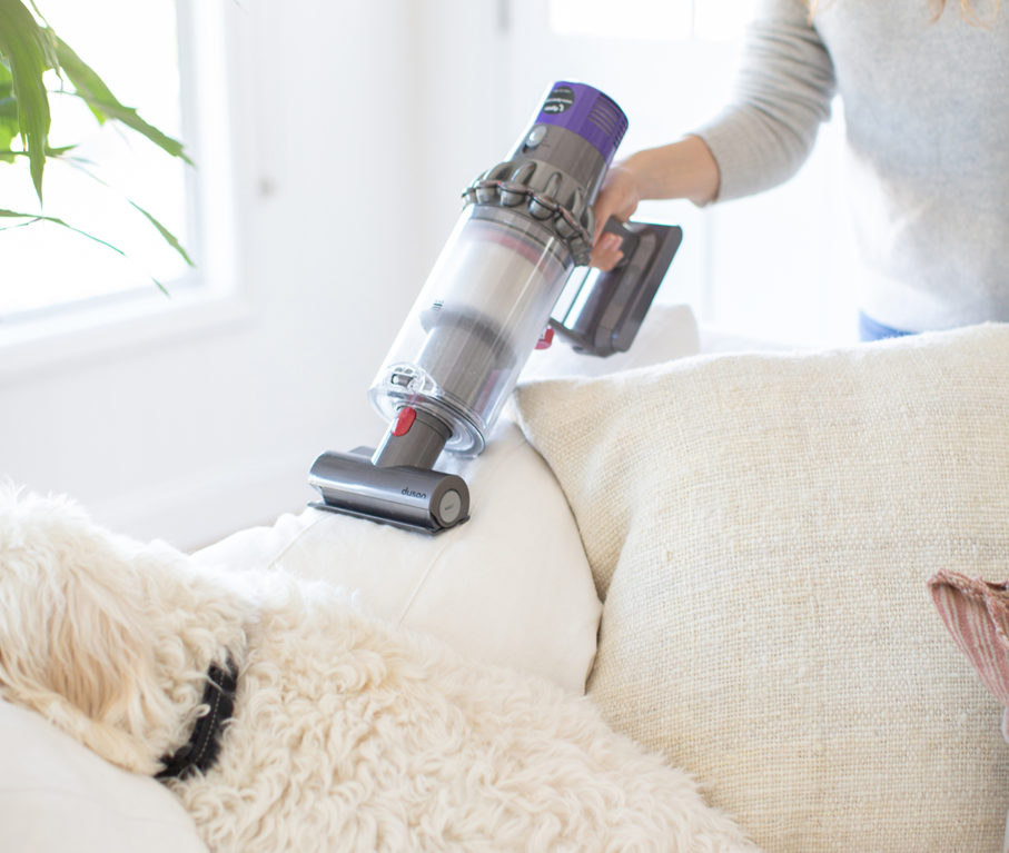 Healthy Hoe Hacks: Cleaning Dyson V10