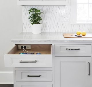 Docking Drawer: Cord Clutter