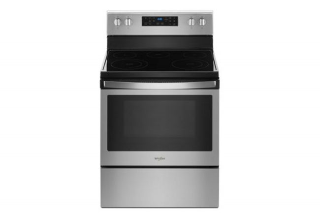 whirlpool electric range frozen bake: smart oven
