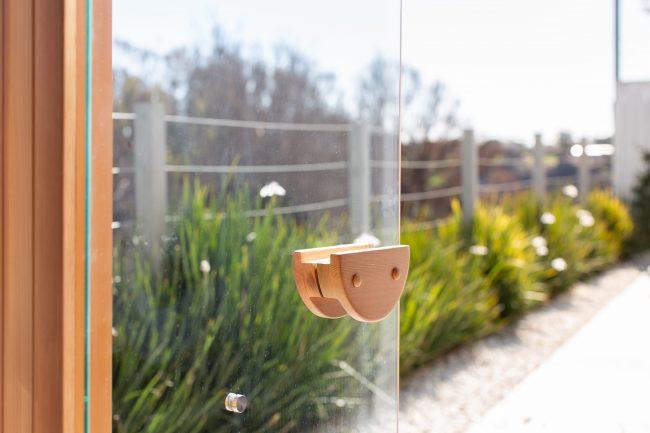 Infrared Saunas: Clearlight Outdoor Sauna by Jacuzzi: Door 2