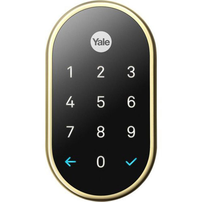 Smart Locks: Yale X Nest Lock