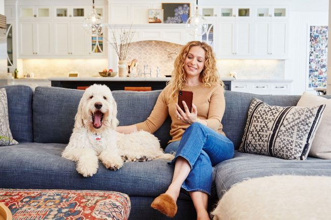 Control4 Smart Home: Carley Knobloch Living Room